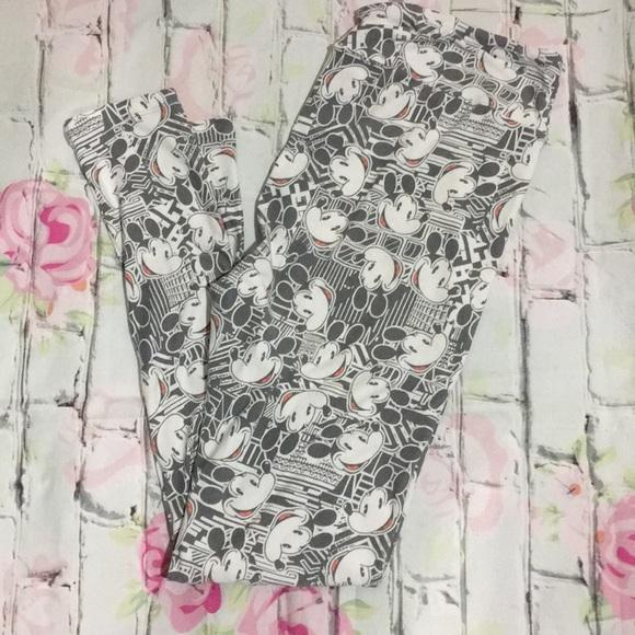LuLaRoe Pants - ✨LulaRoe Disney Mickey Mouse Print Leggings